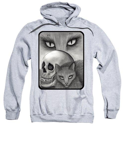 Witch's Cat Eyes Sweatshirt