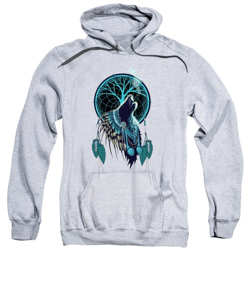 Wolf Indian Shaman Sweatshirt