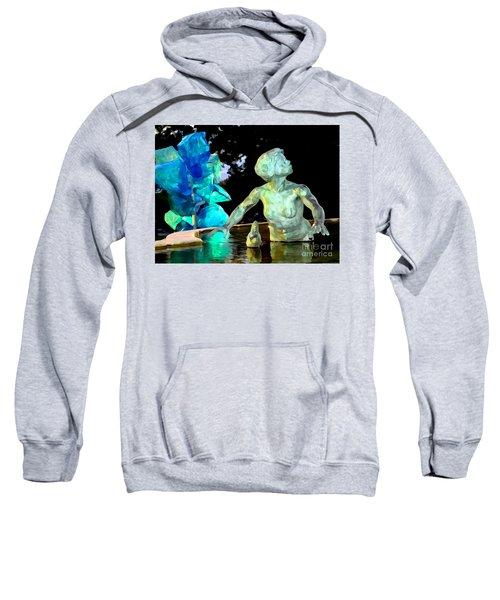 Woman In Fountain Sweatshirt