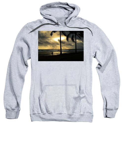 Woman In The Sunset  Sweatshirt