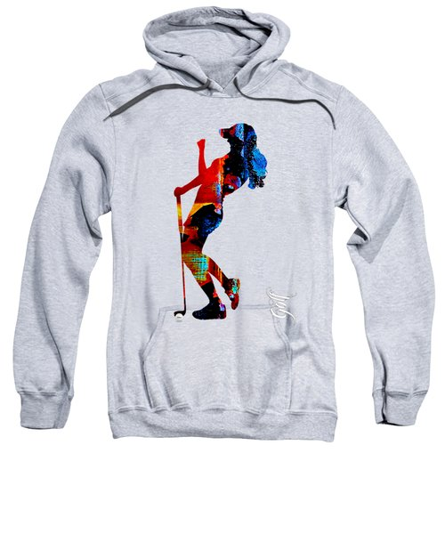 Womens Golf Collection Sweatshirt by Marvin Blaine