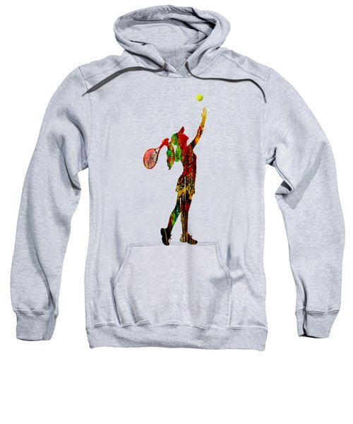 Womens Tennis Collection Sweatshirt by Marvin Blaine