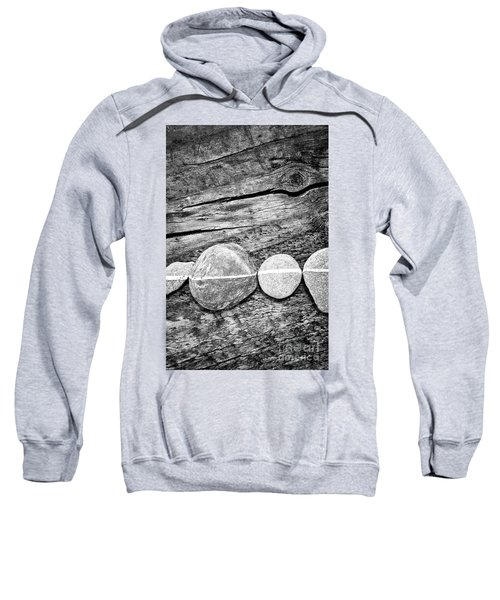 Wood And Stones - Vertical Sweatshirt