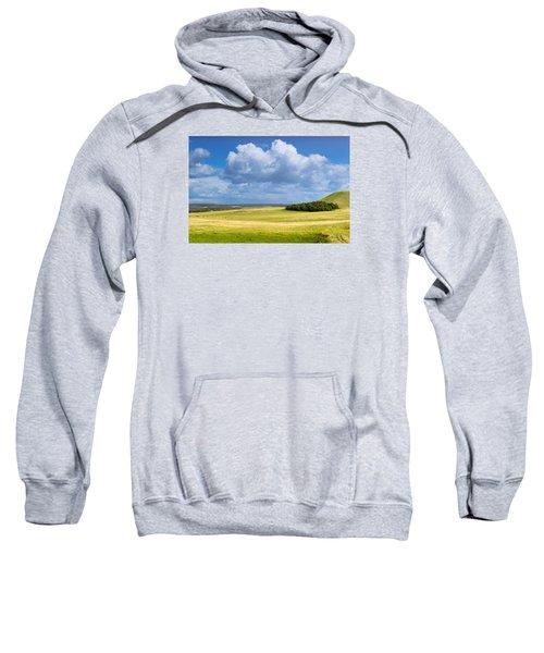 Wood Copse On A Hill Sweatshirt
