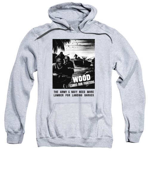 Wood Lands Our Fighters Sweatshirt