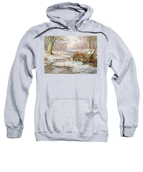 Woodcock Sweatshirt by Carl Donner