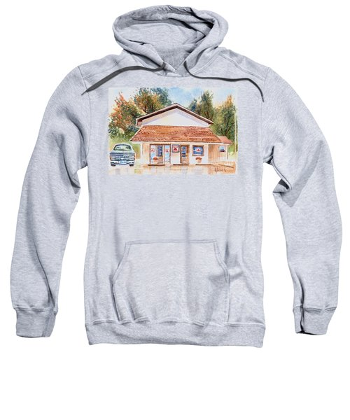 Woodcock Insurance In Watercolor  W406 Sweatshirt by Kip DeVore