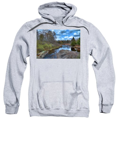 Woodhull Creek In May Sweatshirt