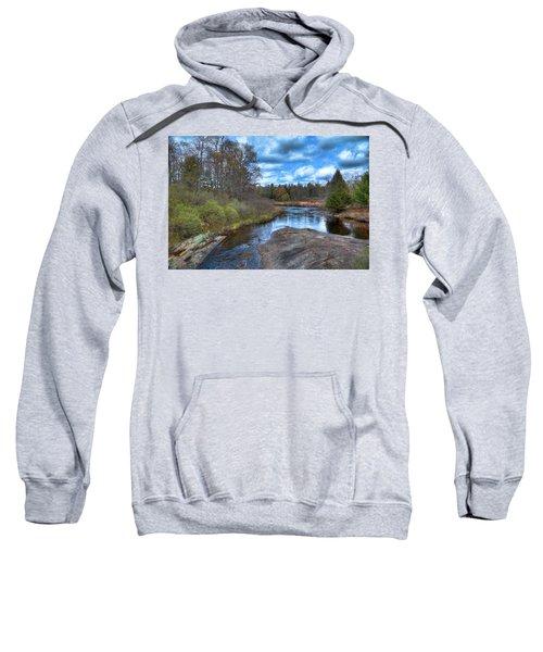Woodhull Creek In May Sweatshirt