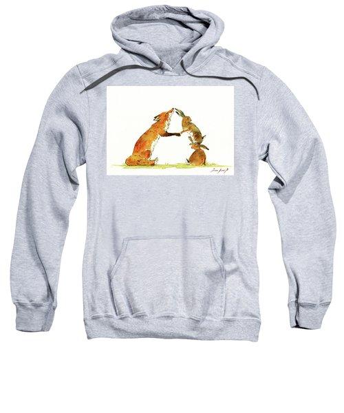 Woodland Letter Sweatshirt