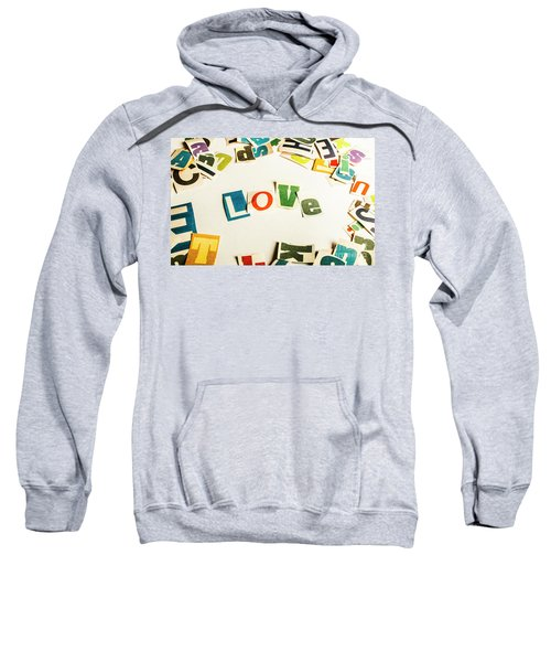 Word Of Love Sweatshirt