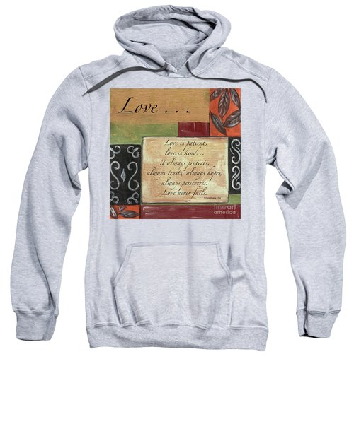 Words To Live By Love Sweatshirt