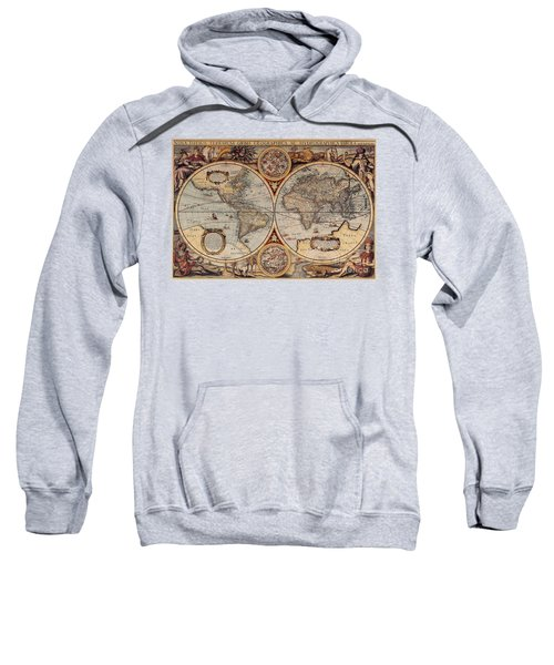World Map 1636 Sweatshirt