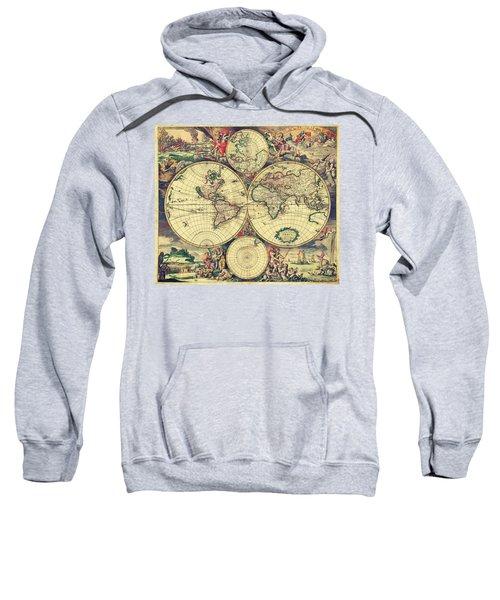 World Map 1689 Sweatshirt