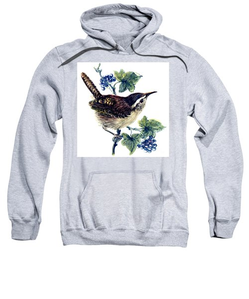 Wren In The Ivy Sweatshirt by Nell Hill
