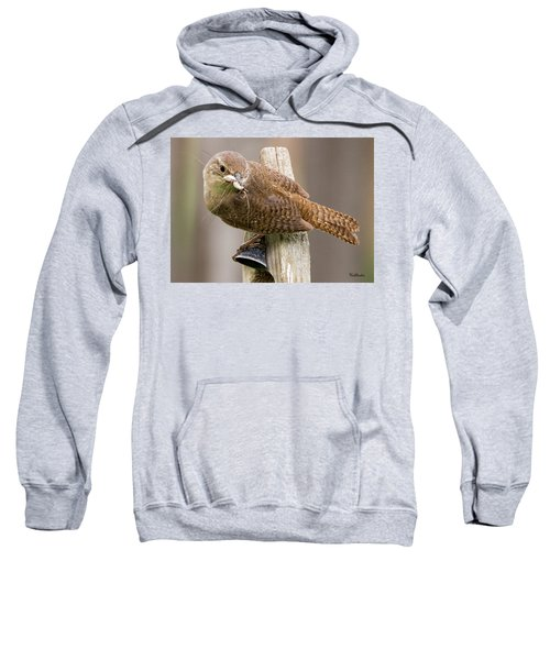 Wren Ringing The Dinner Bell Sweatshirt