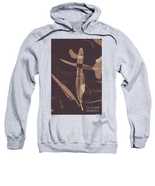 Writers Guild Abstract Sweatshirt