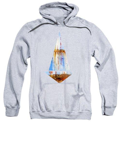 Yachts In The Marina   Sweatshirt