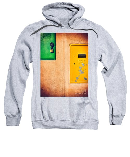 Sweatshirt featuring the photograph Yellow And Green by Silvia Ganora