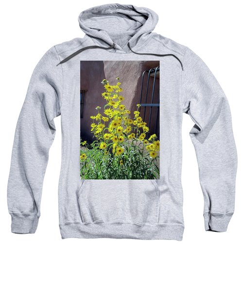 Yellow Composites At Ghost Ranch  Sweatshirt