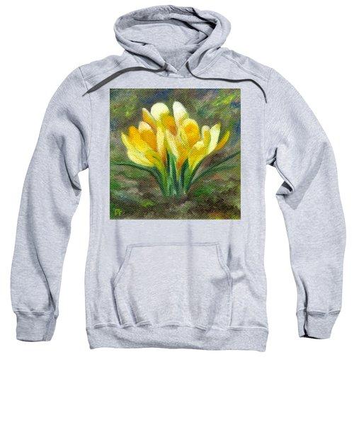 Yellow Crocus Sweatshirt