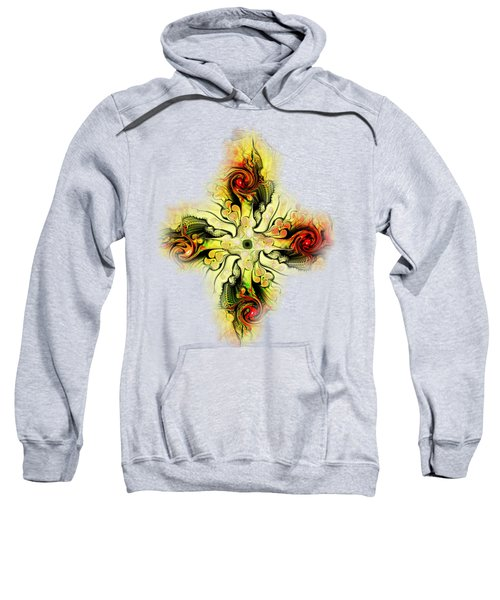 Yellow Cross Sweatshirt