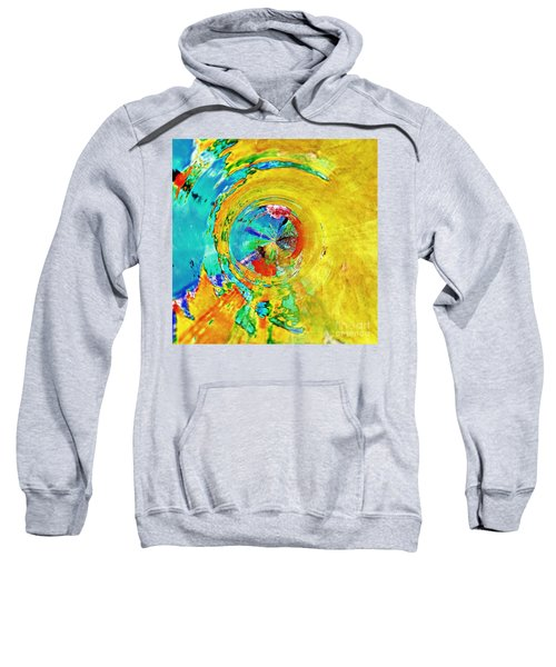 Yellow Eclipse  Sweatshirt