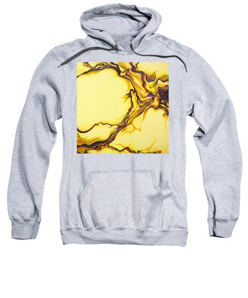 Yellow Flow Sweatshirt