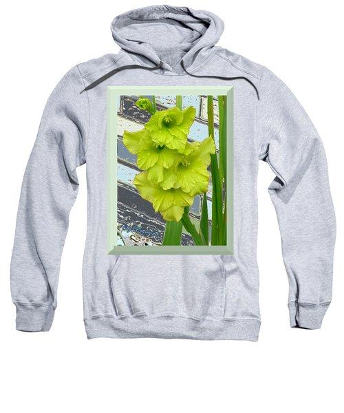 Yellow Gladiolas Sweatshirt