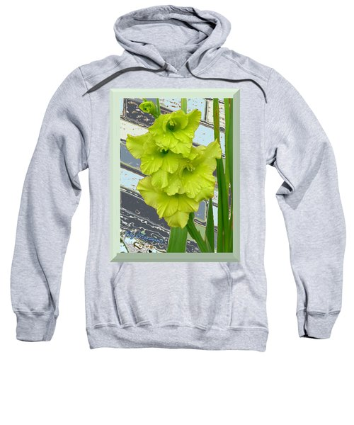 Yellow Gladiolas Sweatshirt