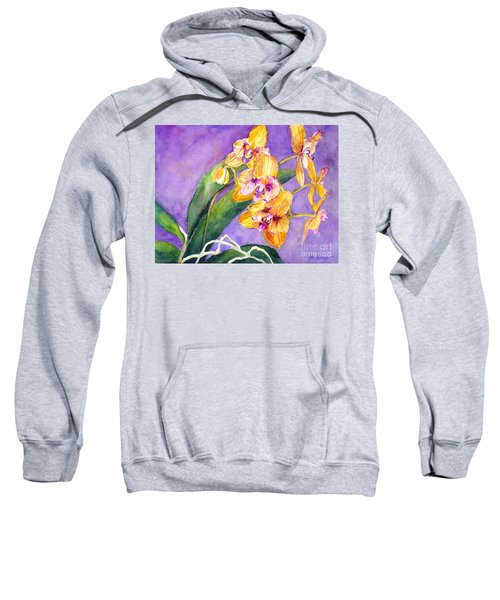 Yellow Orchids Sweatshirt
