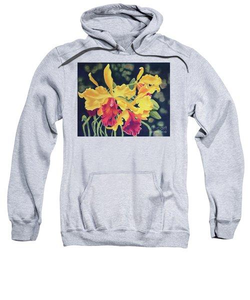 Yellow Orchids Sweatshirt