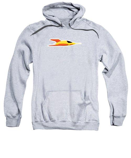 Yellow Space Rocket Sweatshirt