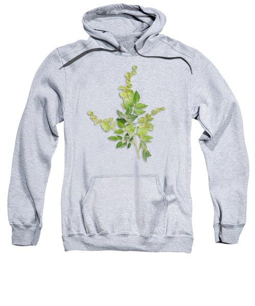 Yellow Tiny Flowers Sweatshirt