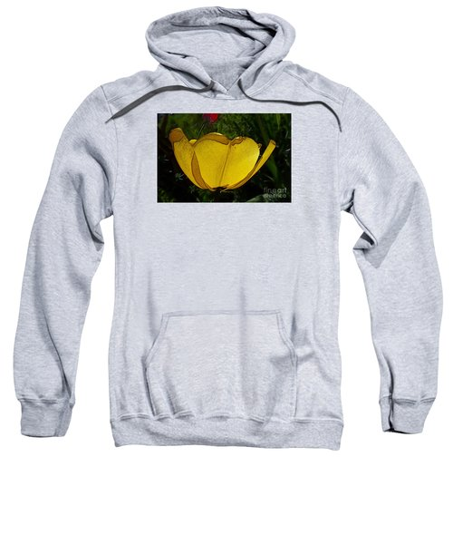 Yellow Tulip 2 Sweatshirt
