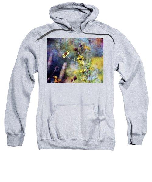 Yellow Wildflowers 3230 Idp_2 Sweatshirt