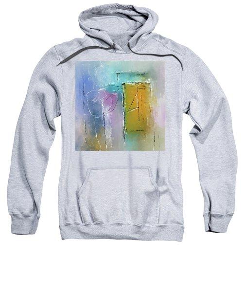 Yellows And Blues Sweatshirt
