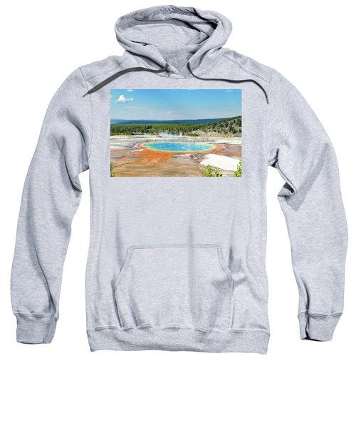 Yellowstone Grand Prismatic Spring  Sweatshirt