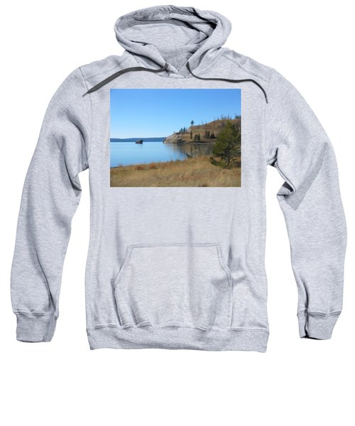 Yellowstone Lake Se Sweatshirt