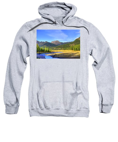 Yellowstone National Park Landscape Sweatshirt