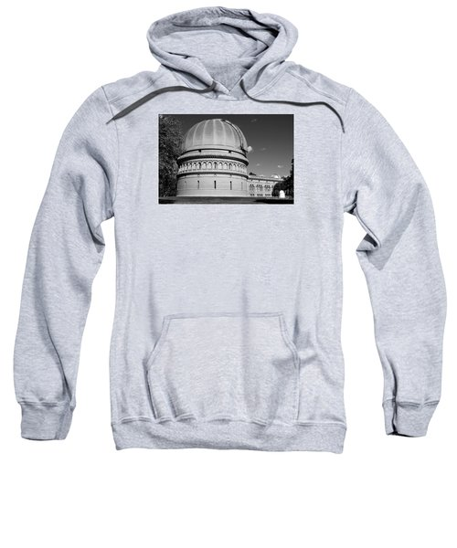 Sweatshirt featuring the photograph Yerkes Observatory  by Ricky L Jones