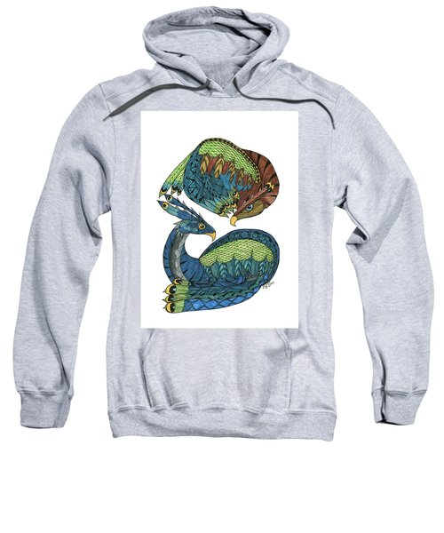 Yin Yang Dragons Sweatshirt