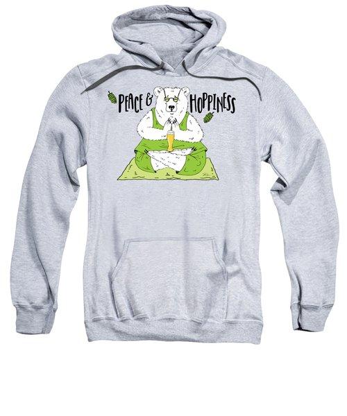 Yoga Beer Bear Sweatshirt