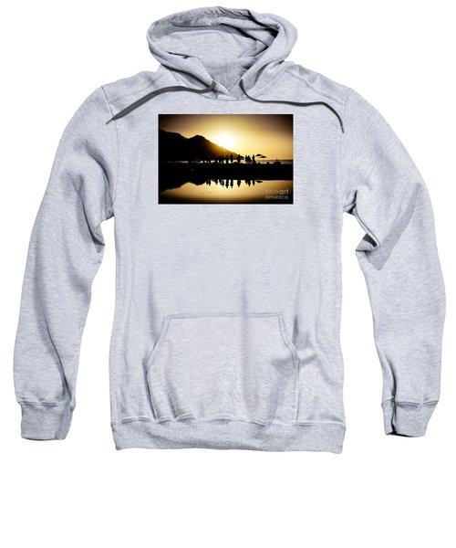 Yoga Sunrise At Sea Coast Sweatshirt