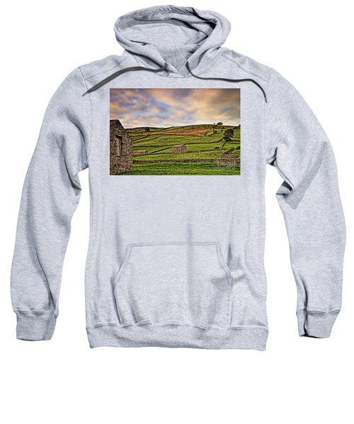 Yorkshire Dales Stone Barns And Walls Sweatshirt