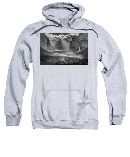 Yosemite Morning Sun Rays Sweatshirt