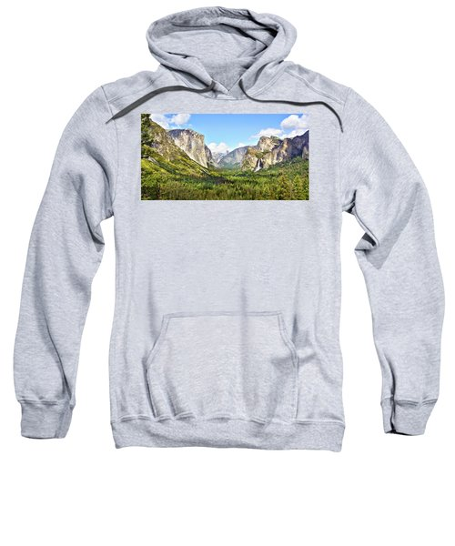 Yosemite Tunnel View Afternoon Sweatshirt