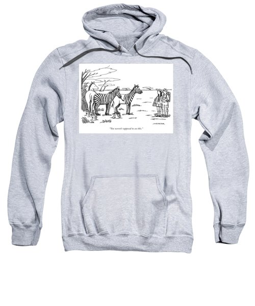 You Were Not Supposed To See This Sweatshirt