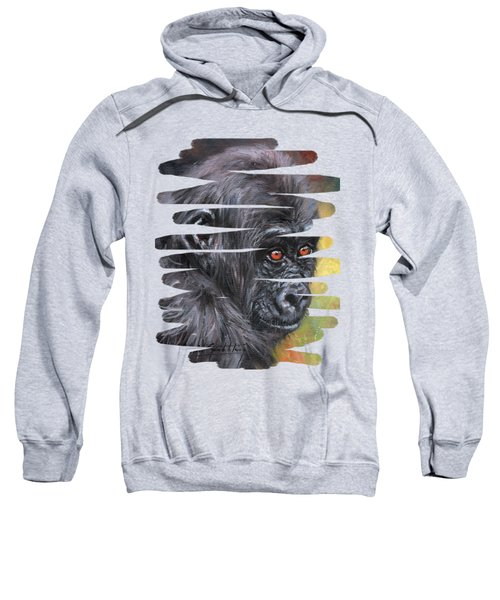 Young Gorilla Portrait Sweatshirt