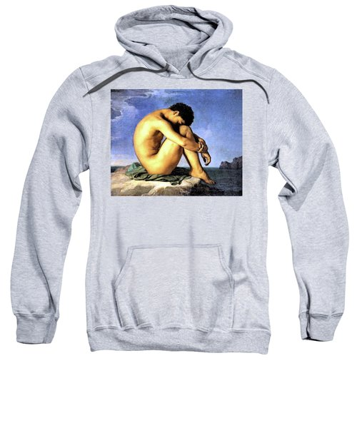 Young Man By The Sea Sweatshirt